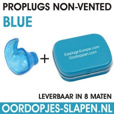 Proplugs non-vented Blauw