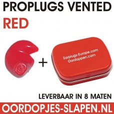 Proplugs vented Rood